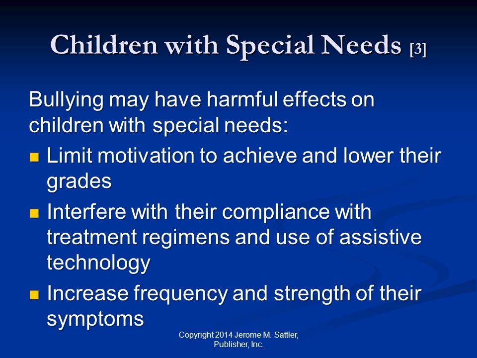 Children with Special Needs [3]